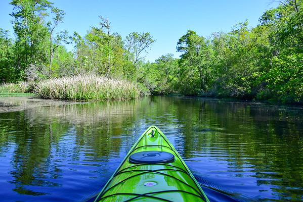 Horseshoe Creek April 2021