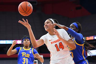 NCAA WBball: Pitt at SU; 1/28/21
