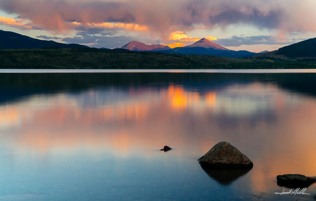 Reflection on Lake Dillon