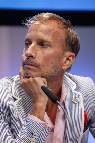The Netherlands, Amsterdam, 22-7-2018. TB2018Discussion: The urgency of overcoming the bottlenecks to end TB and HIV Mark Dybul, Georgetown University Medical Center, United States Photo: Rob Huibers for IAS. (Please publish always with complete attribution).