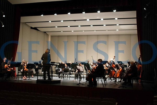 Geneseo Symphony Orchestra (Photos by Riley Plass '22)