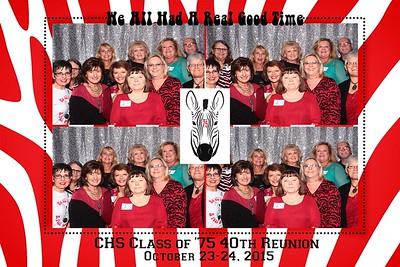 Claremore HS 40th Reunion