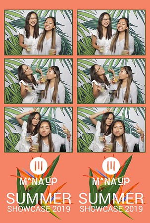 Mana Up - June 2019 (Fusion Photo Booth)
