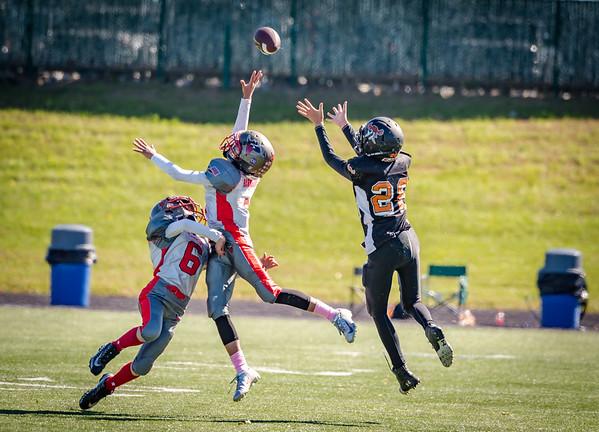 Keagan - Union Raiders Junior Youth Football - 21Oct18 - NKY Bandits