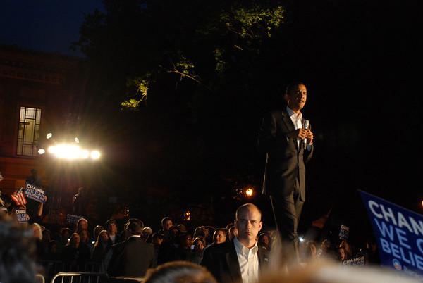 Obama in Eugene