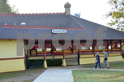 11/3/12 Texas State Rail Road Celebrates Last Operating T & P Steam Locomotive by Gloria Swift