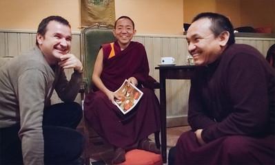 Dolpo Tulku Rinpoche teaching Prague 2013