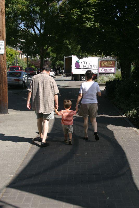 Halmoni & Halaboji Visit Summer 2004