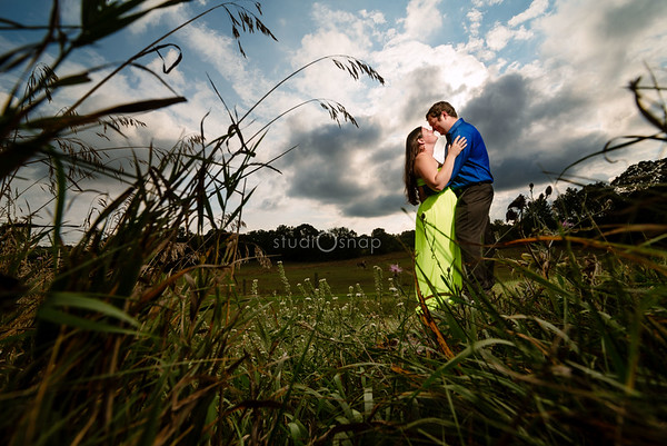 Ally & Dan | Engagement | White's Honey & Crafts, Highland
