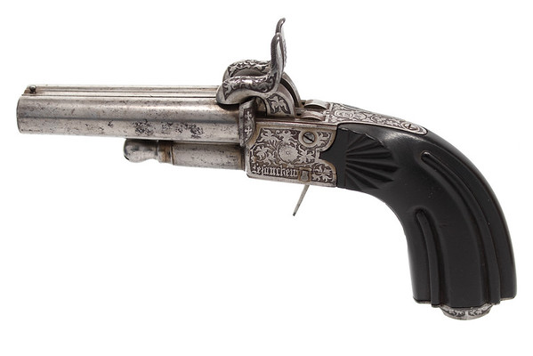Early Casimir Lefaucheux pinfire pistol