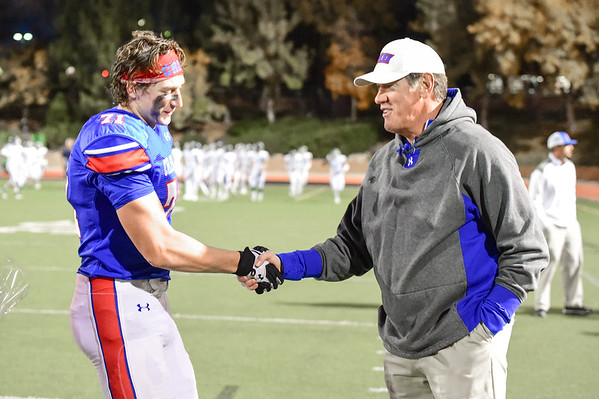 2014 Cherry Creek Football Senior Night