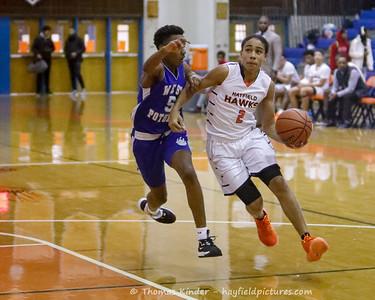 Boys JV Basketball v West Potomac 1/21/20