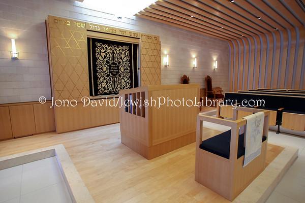 JAPAN, Tokyo. The Jewish Community of Japan Synagogue (Tokyo Synagogue) (8.2011)