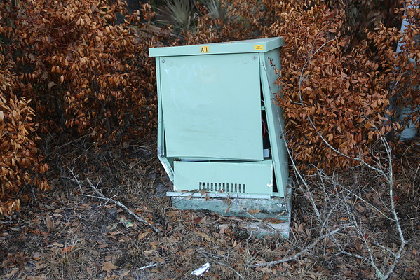 Abandoned Utility Detritus in the Goldenrod area