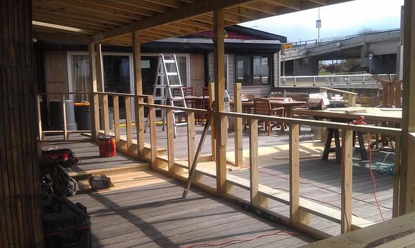 2012 Deck Bar Construction