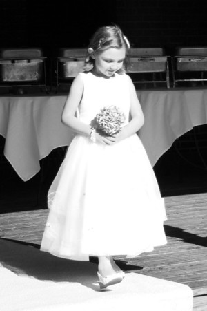 Lauren and Ren's Wedding (black and white)