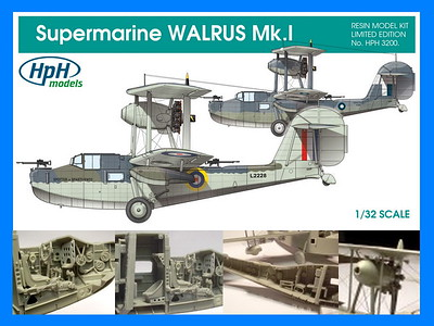 HpH 1/32nd Supermarine Walrus