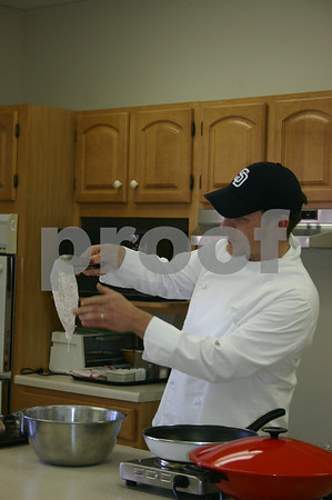 Chef Demonstration at Senior Center - March 2006