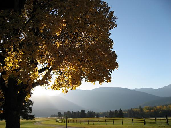 Chief Joseph Ranch Fall 2006