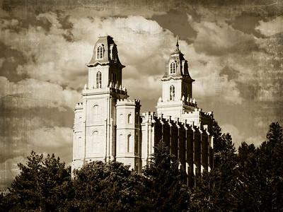 Manti LDS Temple Prints