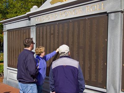 War Memorial Oct.14, 2007