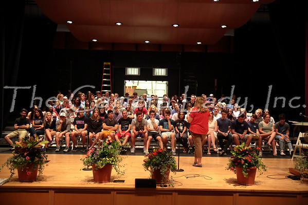 CHCA 2016 HS Graduation Practice 06.03