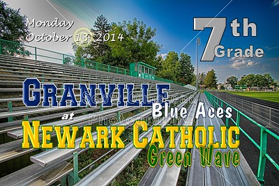 7th Grade Granville at Newark Catholic (10-13-14)