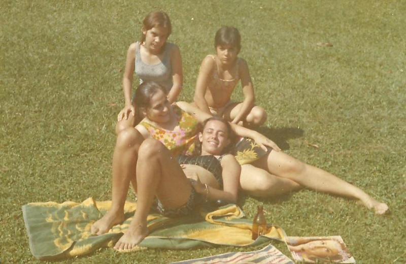 São Pereira, Bika Braziel, Teresa Caetano e Paula Braziel