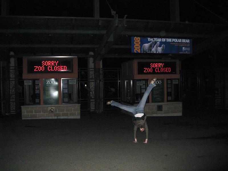 Stacee Calderon - Metro Zoo, Portland, OR - 2/2008