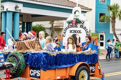 St Augustine Christmas Parade - 2018