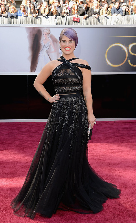 . TV personality Kelly Osbourne attends the Oscars at Hollywood & Highland Center on February 24, 2013 in Hollywood, California.  (Photo by Jason Merritt/Getty Images)