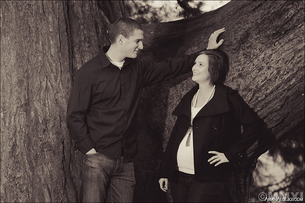 Stephanie and Travis Maternity
