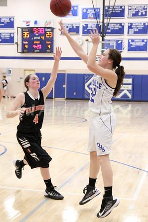Girls Basketball, Van Buren vs Danville 12/10/2013