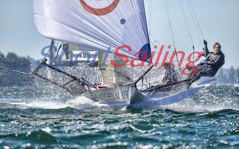 Queen of the Harbour 18ft Skiffs  2017
