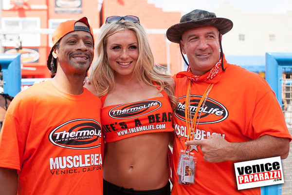 06.08.13 Inaugural Muscle Beach Bikini Contest.  Hosted by ThermoLife