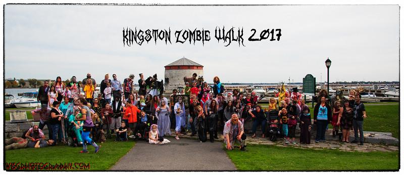 Kingston Zombie Walk 2017