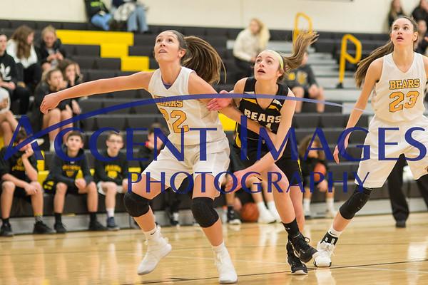 8th Grade Girls Basketball vs Jones 1/24/19