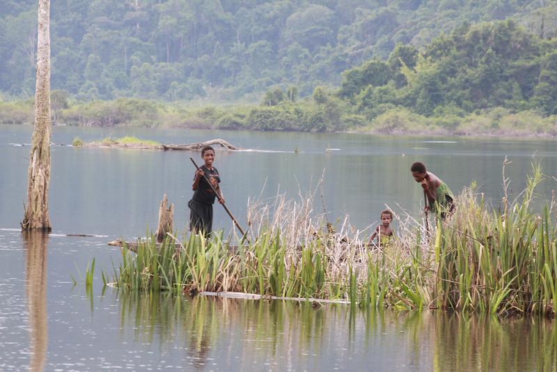 Yimas Lakes fishing