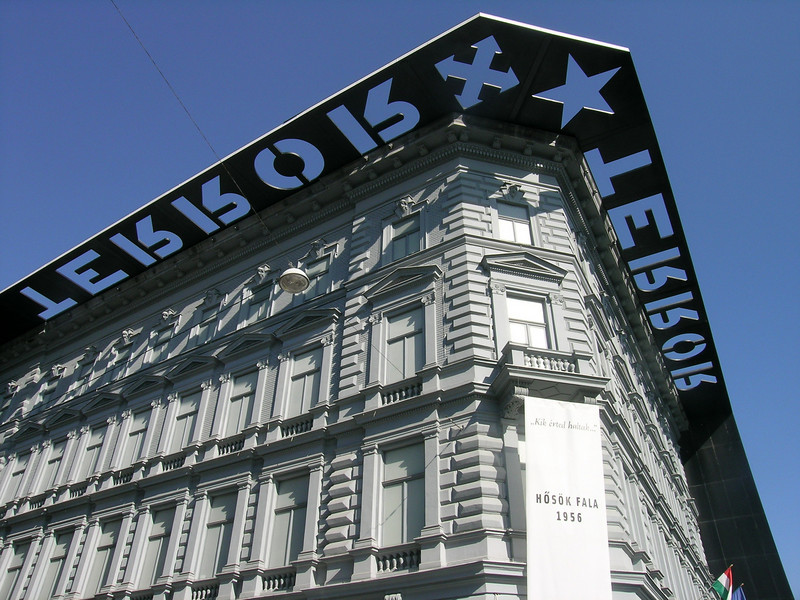 """""""House of Terror"""" museum, former headquarters for the State Security Police"""