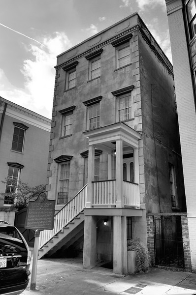 Flannery O'Connor childhood home BW_BS-2.jpg