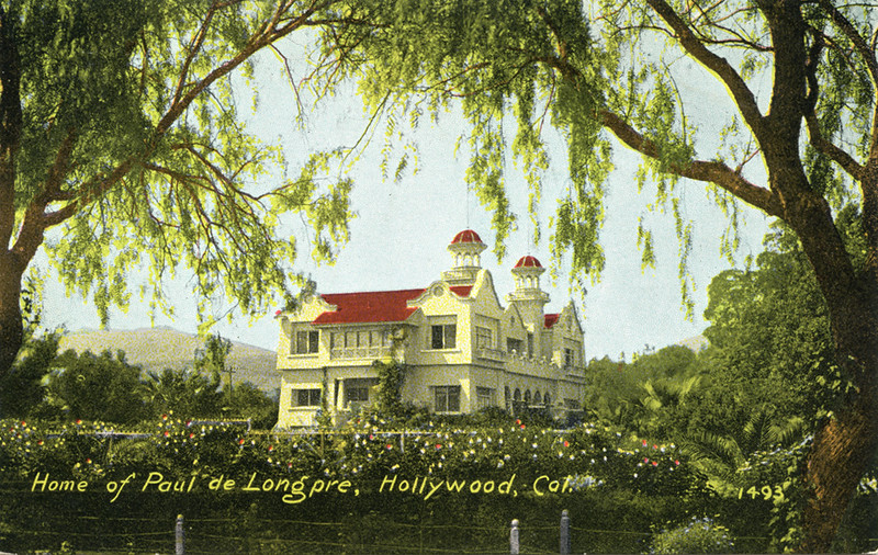 Home of Paul de Longpre
