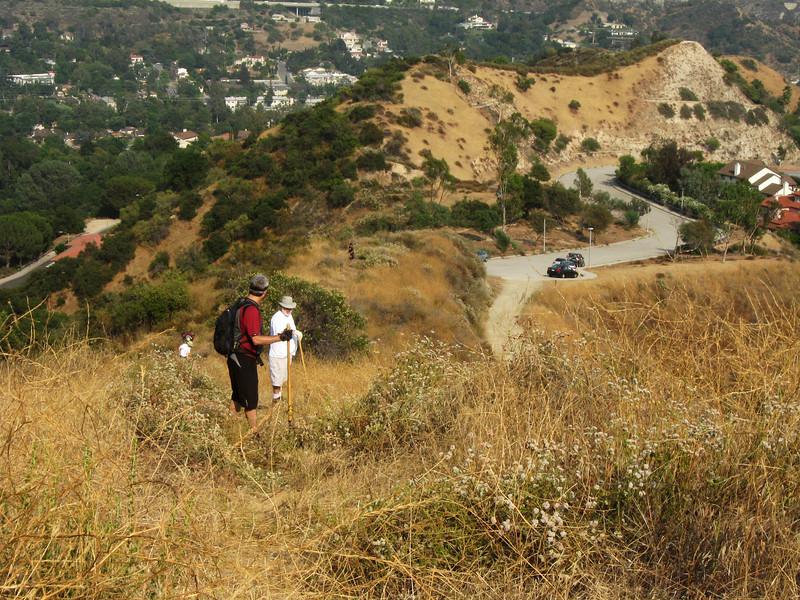 20080625005-Glendale Las Flores Trailwork.JPG