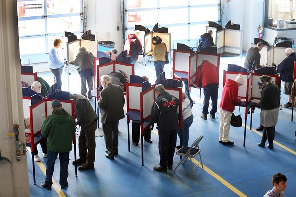 Voting on Bennington county. 030320