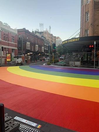 Rainbow Crossing Launch