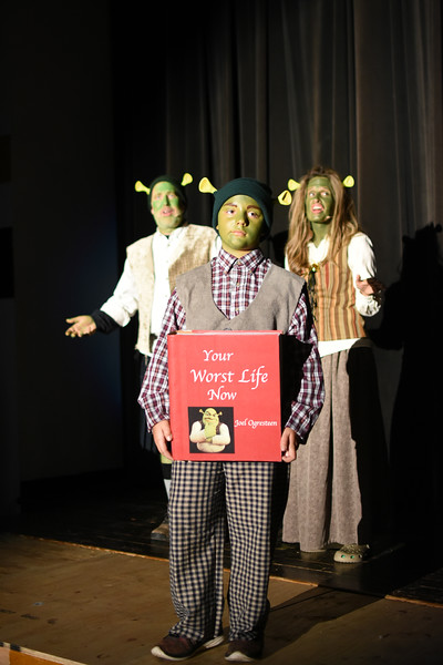 2016 Shrek dress rehearsal