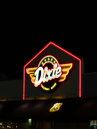 Dixie Truck Stop in McLean