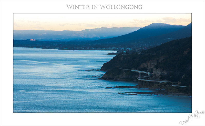 Winter in Wollongong