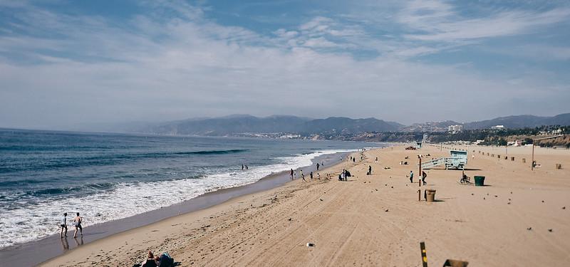 Route 66 - Santa Monica, Los Angeles