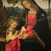 Virgin Teaching the Christ Child to Read, Circa 1494-1497, Oil and gold on panel by Pinturicchio.  Museum of Art, Philadelphia, Pennsylvania