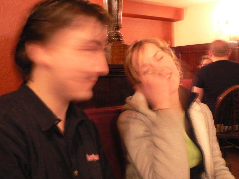 Dan and Anita behave blurrily